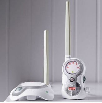 Fisher-Price-Baby-sound-Monitor-and-Lamp-light
