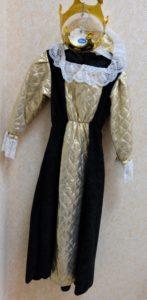 Платье Принцесса в золотом
