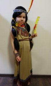 костюм Покахонтас / Индейская девочка