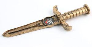 Нож пирата пластиковый