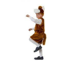Детский меховой костюм Коник