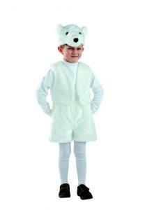 костюм белый медведь батик
