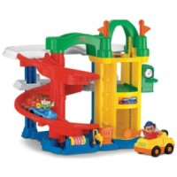 Гараж-паркинг Fisher-Price с лифтом