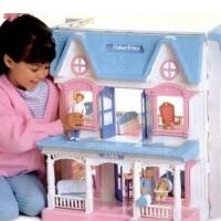 Большой домик для кукол Fisher-price