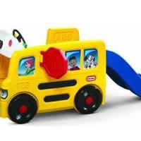 Игровой центр » Автобус с горкой -1 » Little Tikes (очень большой)
