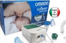 Ингалятор Omron DuoBaby с назальным аспиратором
