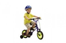 Велосипед «Молния» с приставными колесами
